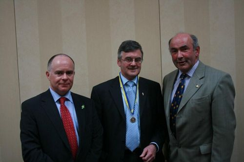 Pat Clarke, Rotary Paul Harris Fellow